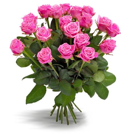 Μπουκέτο με ρόζ τριαντάφυλλα - Αισθησιακή πολυτέλεια